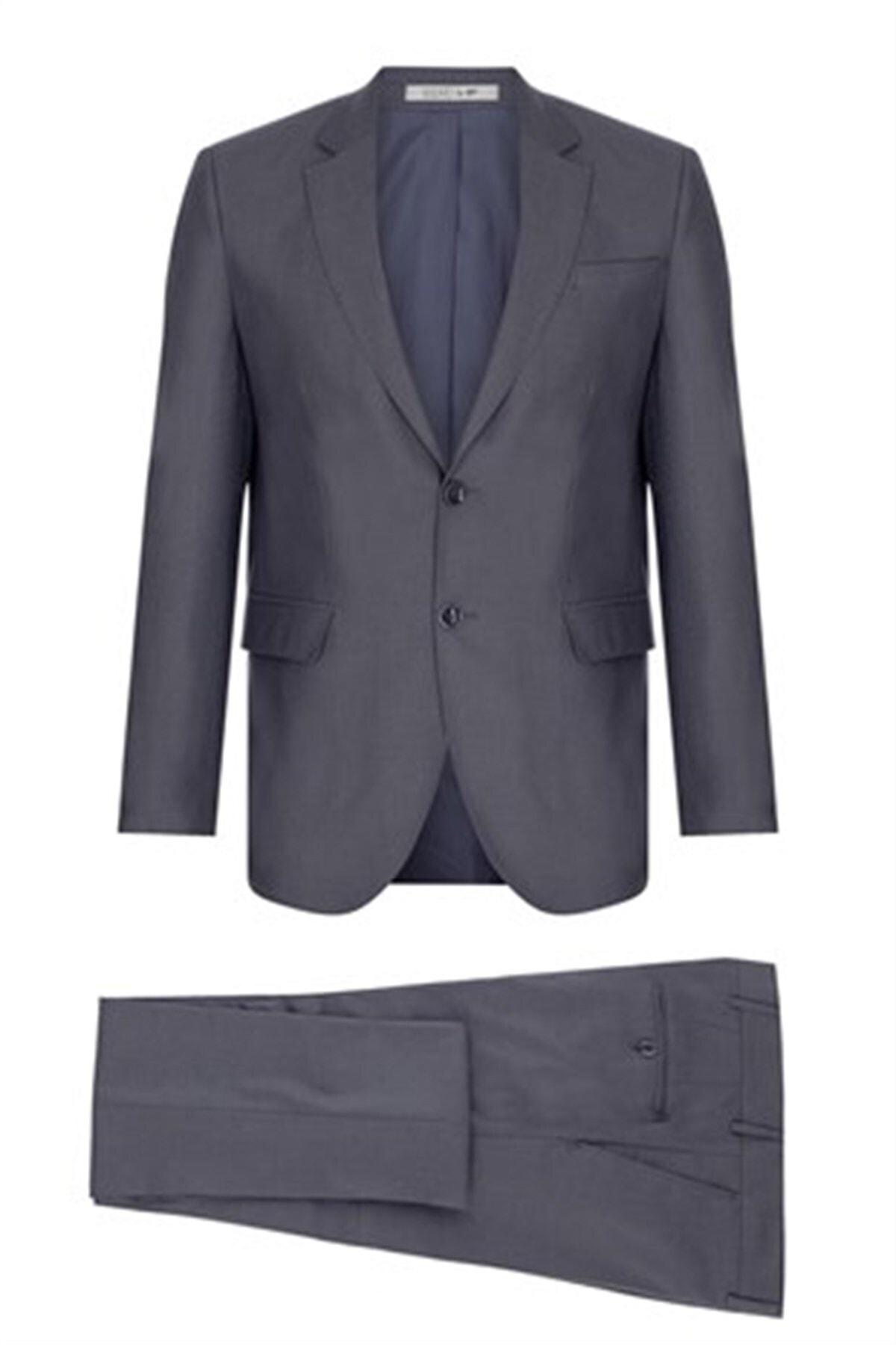 İgs Erkek Duman Regularfıt / Rahat Kalıp Std Takım Elbise 1