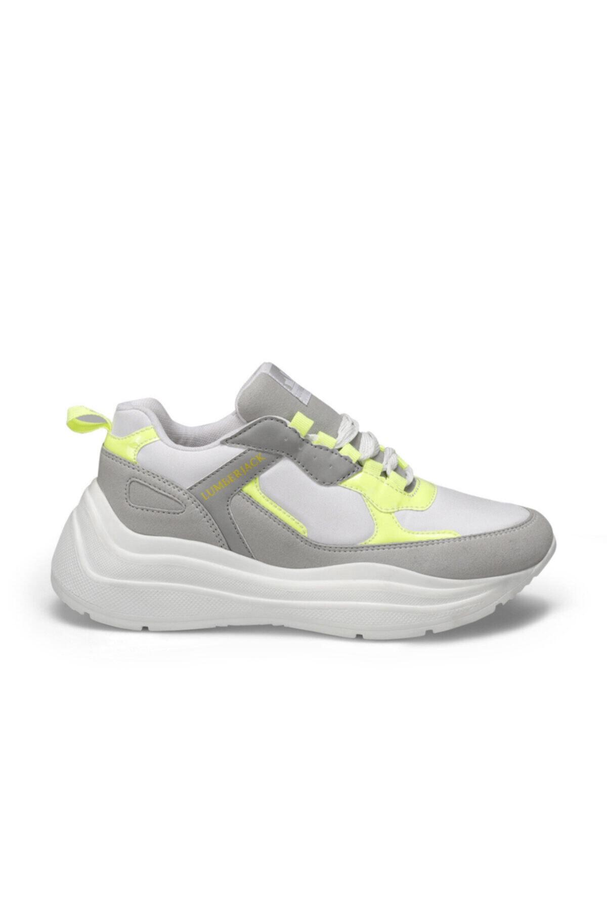lumberjack LOVE Beyaz Kadın Kalın Taban Sneaker Spor Ayakkabı 100486545 2