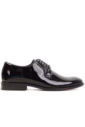MARCOMEN - Siyah Rugan Erkek Klasik Ayakkabı