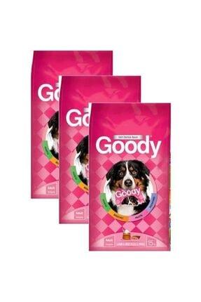 Goody Kuzu Etli Ve Pirinçli Yetişkin Köpek Maması 15 Kg * 3 Adet