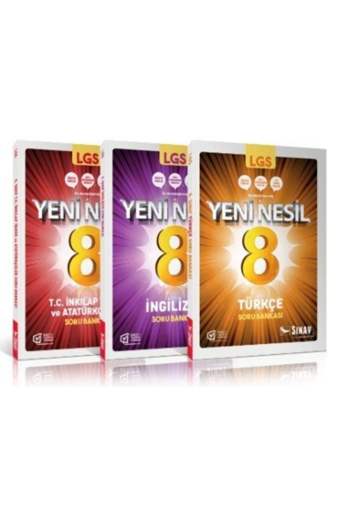 Sınav Yayınları 8.sınıf Lgs Sözel Soru Bankası Kazandıran Set 1