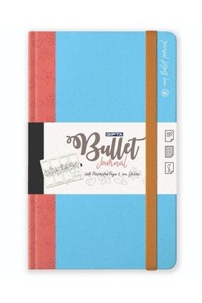 Gıpta Bullet Journal Tarihsiz Ajanda Nokta Iç Blok 13x23
