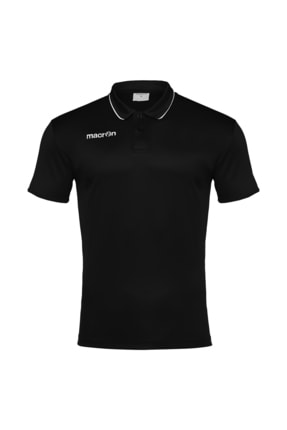 bilcee Macron Siyah Polo Yaka T-shirt 90160901