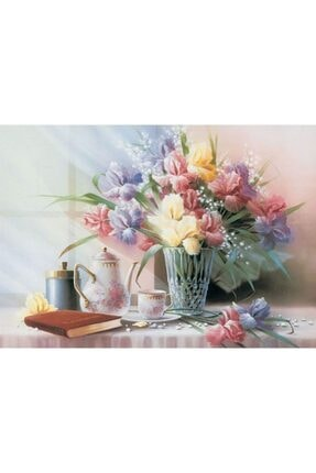 KESKİN COLOR Puzzle Vazoda Çiçekler 1000 Parça Puzzle 260371-99