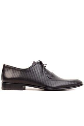 MARCOMEN - Siyah Erkek Klasik Ayakkabı