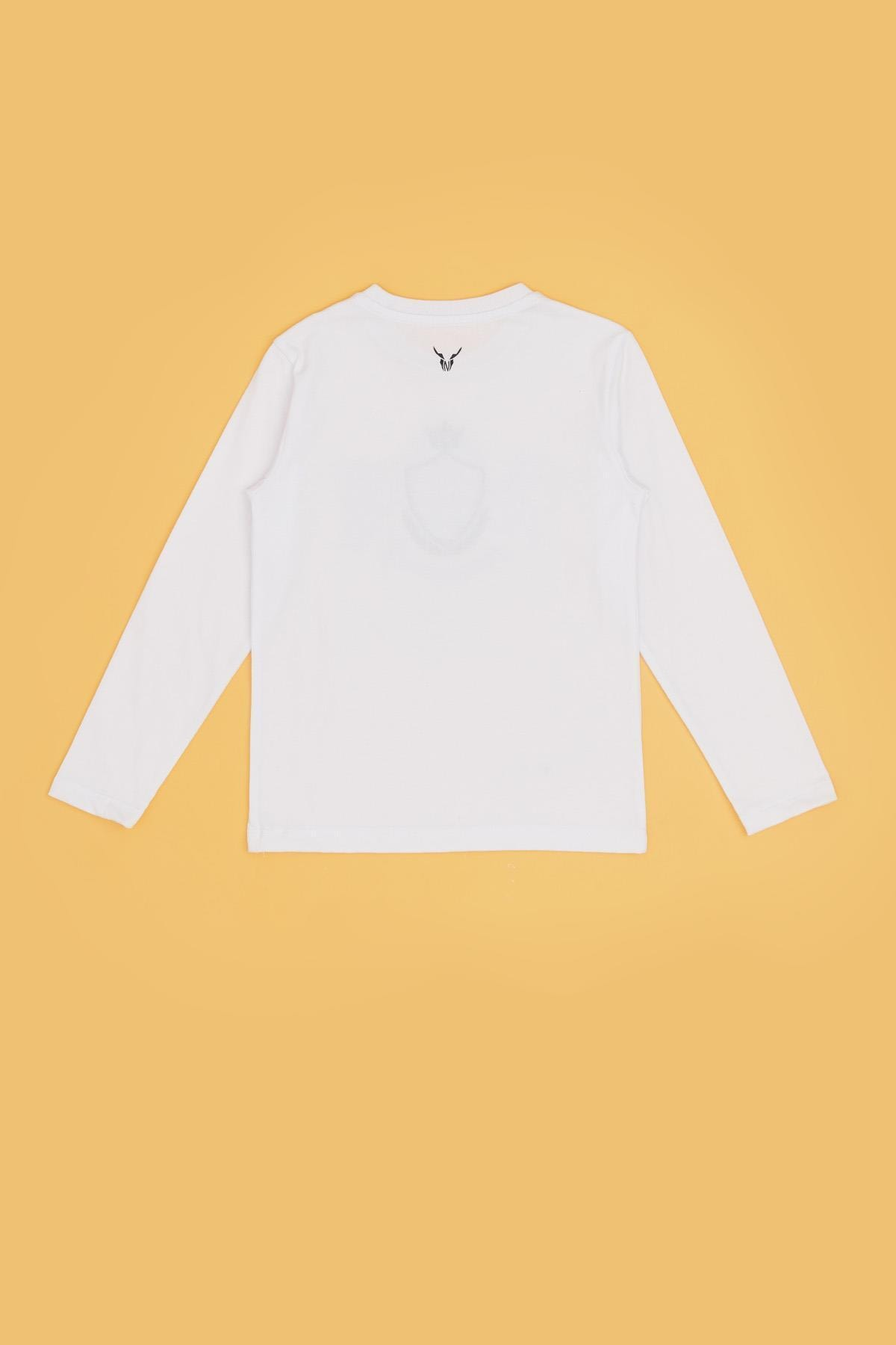 Nebbati Erkek Çocuk Beyaz T-shirt 20fw0nb3523 2