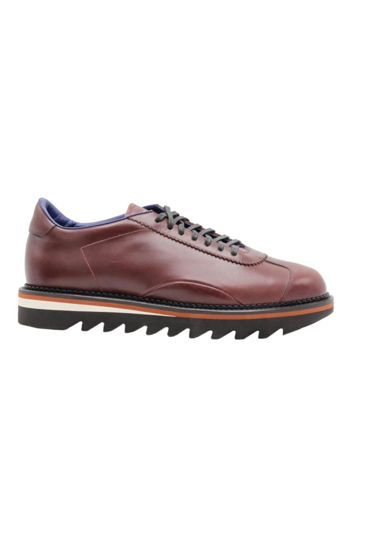 ALBERTO GUARDIANI Hakiki Deri Sneaker France Erkek Ayakkabı 1