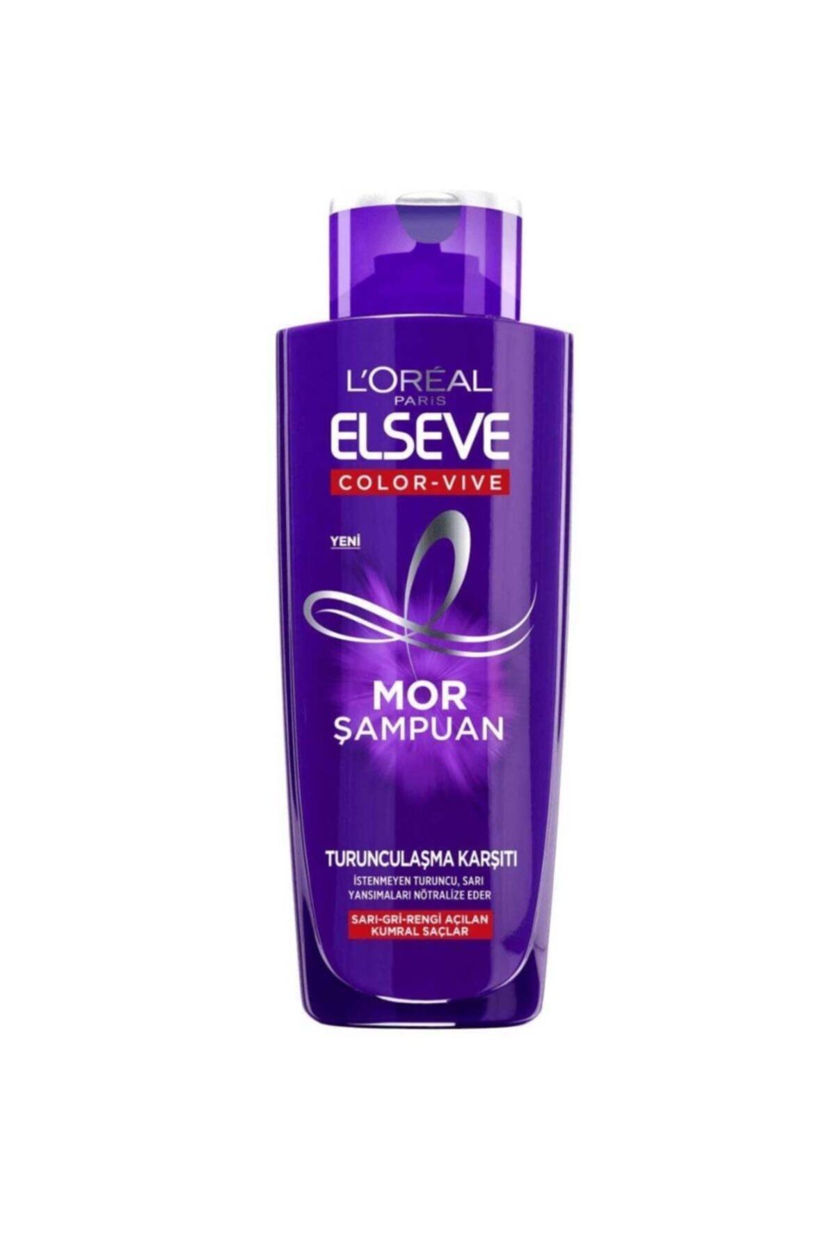 ELSEVE Loreal Turunculaşmaya K. Mor Şampuan 200 ml 1