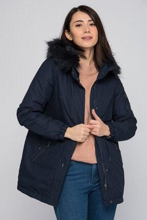 Vero Moda Kadın Lacivert Mont 10181374