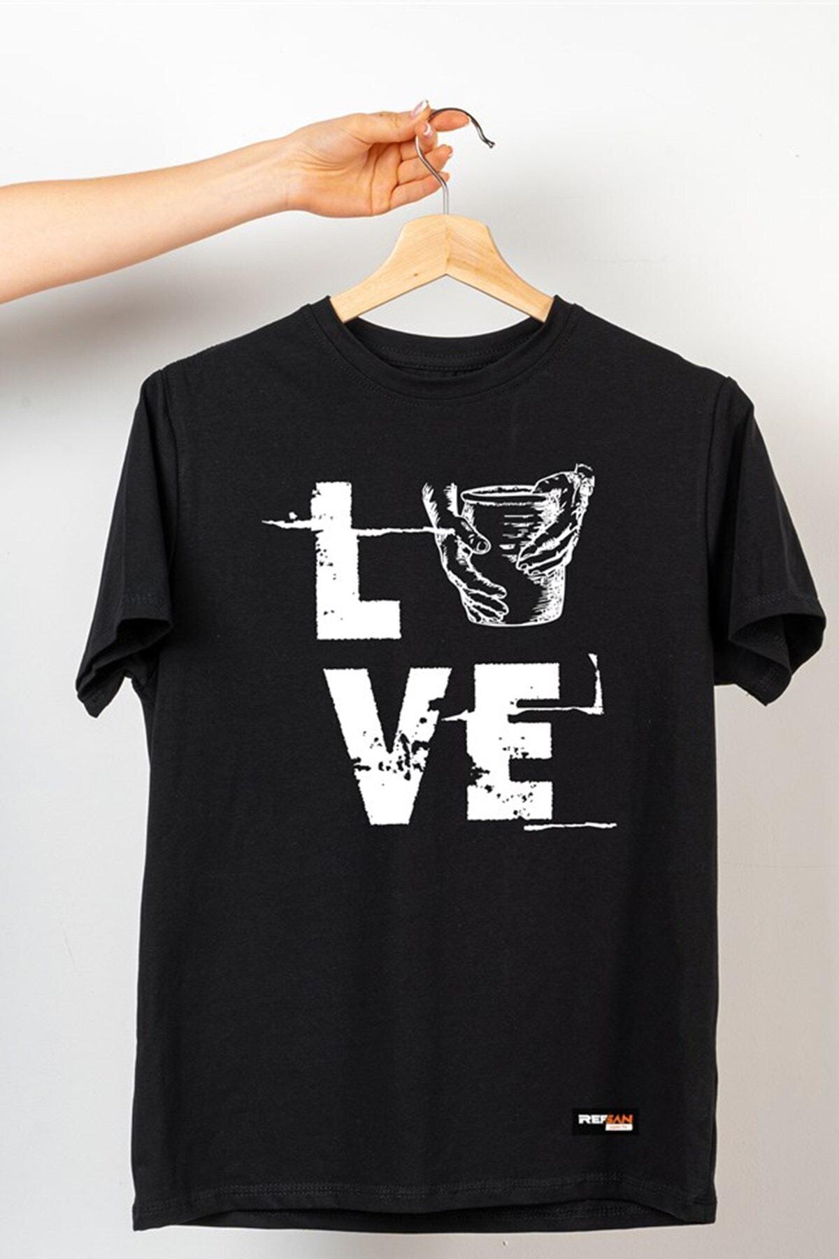 Ref-San Tasarım Tişört - Love 1
