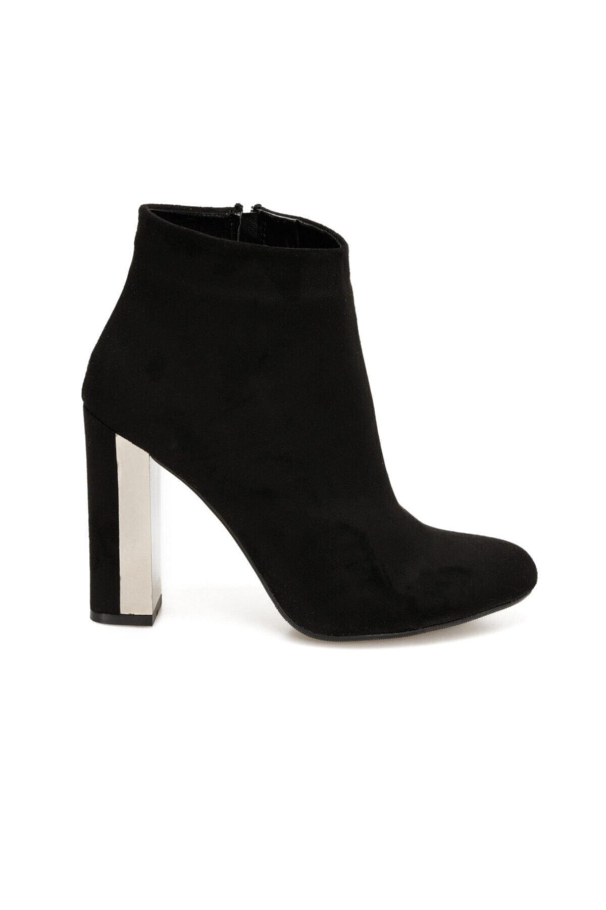 Butigo BURGOS Siyah Kadın Topuklu Bot 100523290 2