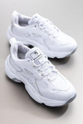Tonny Black Kadın Spor Ayakkabı Beyaz Tb288