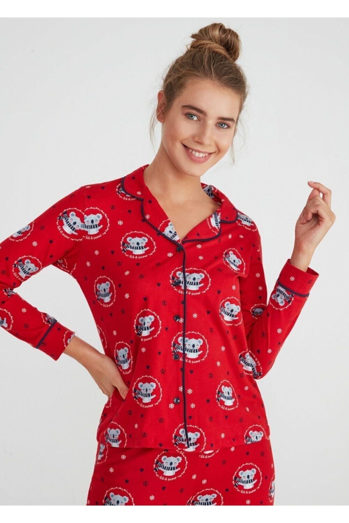 SUWEN Koalina Maskulen Pijama Takımı 2