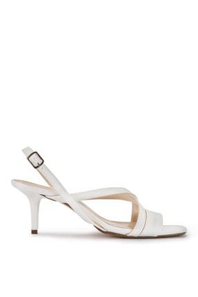 Sole Sisters Kısa Topuklu Sandalet Beyaz - Gawker