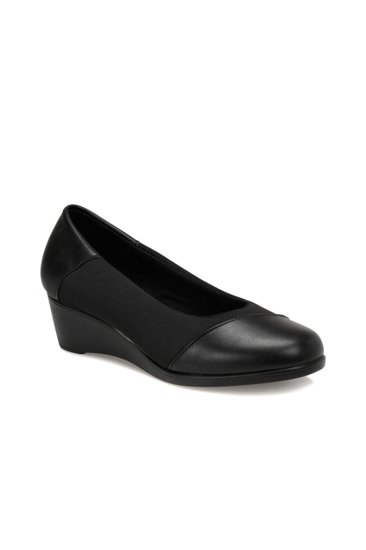 Polaris 161389.Z Siyah Kadın Comfort Ayakkabı 100548490 1