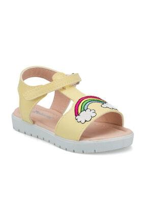 Polaris 512271.B Sarı Kız Çocuk Sandalet 100499231