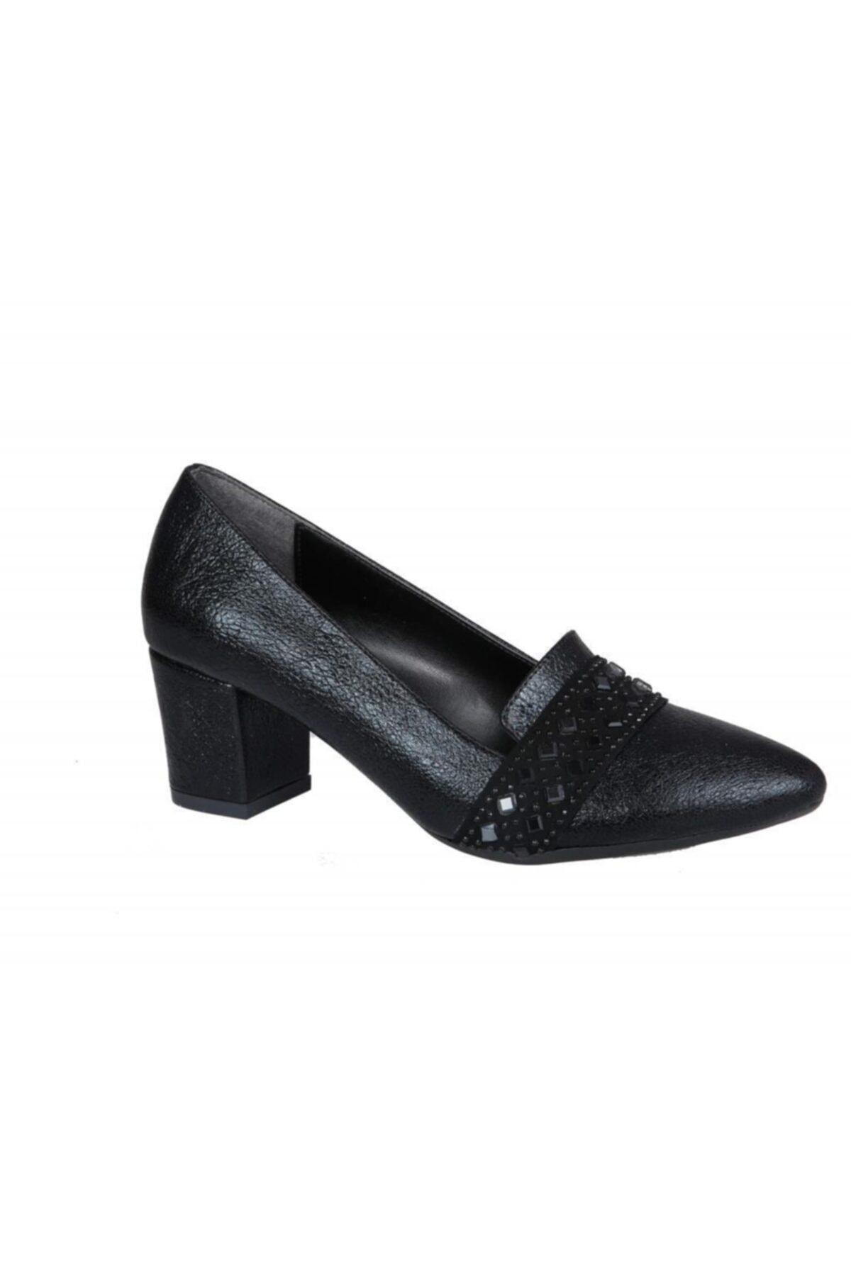 PUNTO 533060 Siyah Kadın Stiletto 2