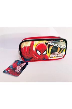 Hakan Çanta Lisanslı Spiderman Iki Gözlü Kalemlik Kod:87746
