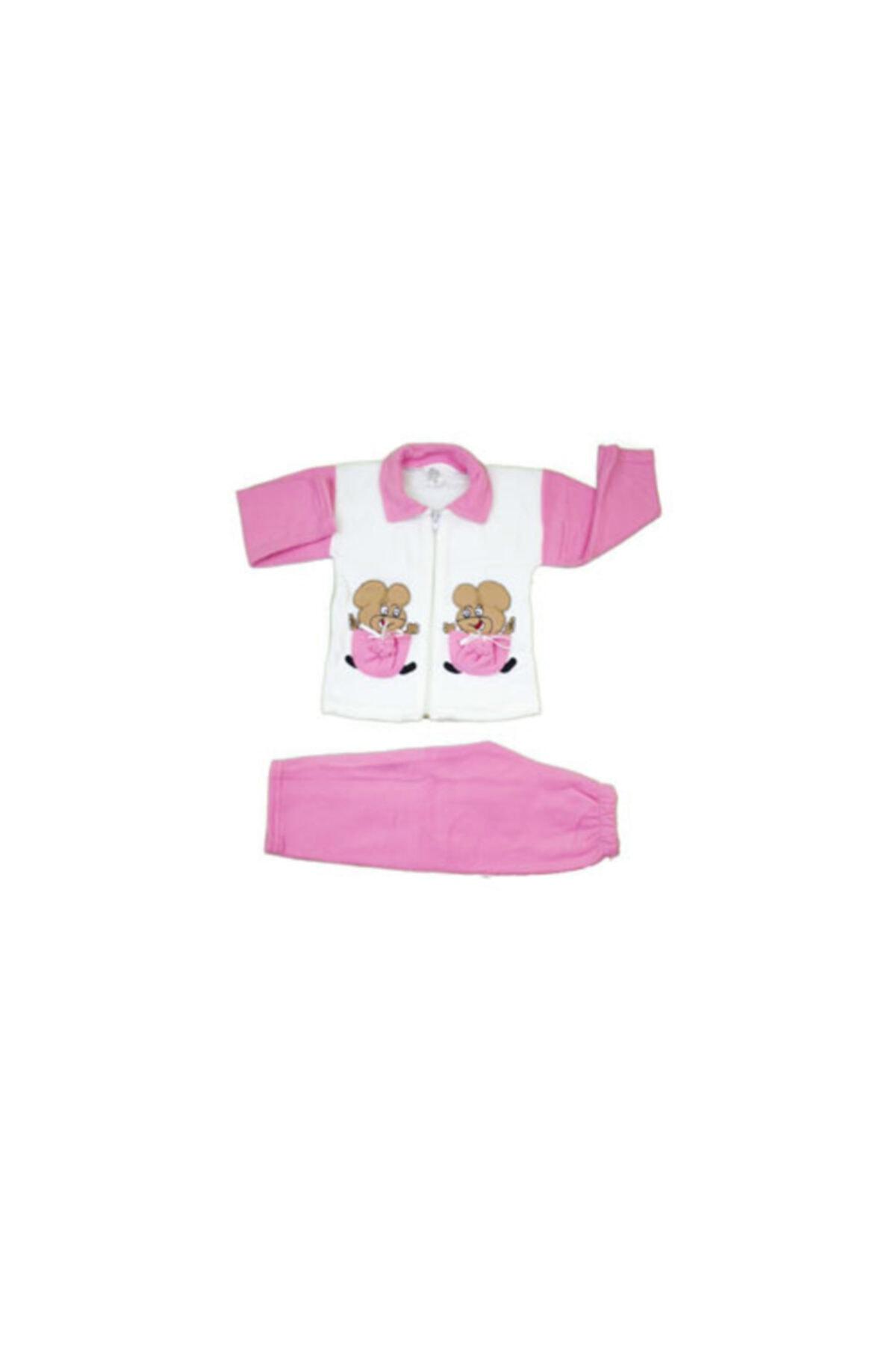 Mickey Mouse Kız Bebek Pijama Takımı 2 Parça 1