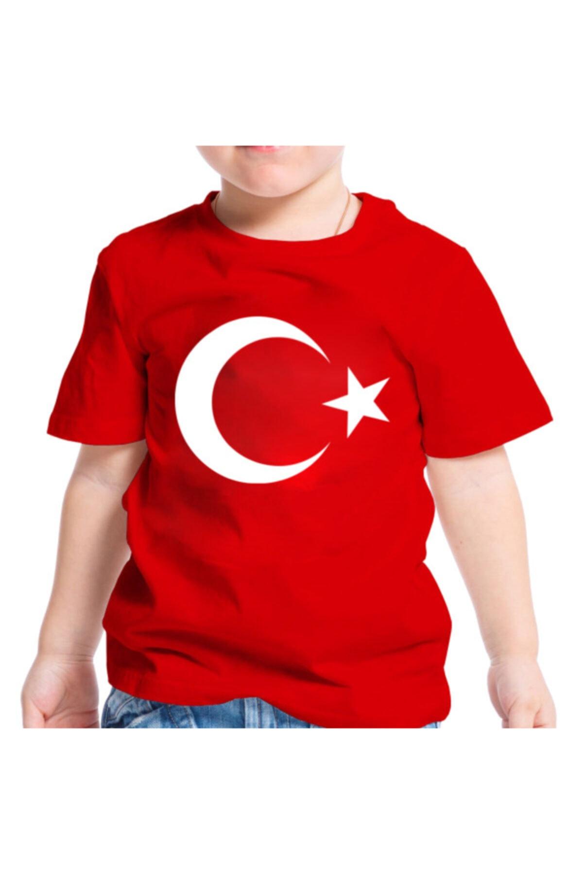 Zeplin Türk Bayraklı Tişört 1