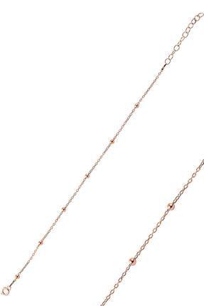 Söğütlü Silver Gümüş Rose Top Top Bileklik