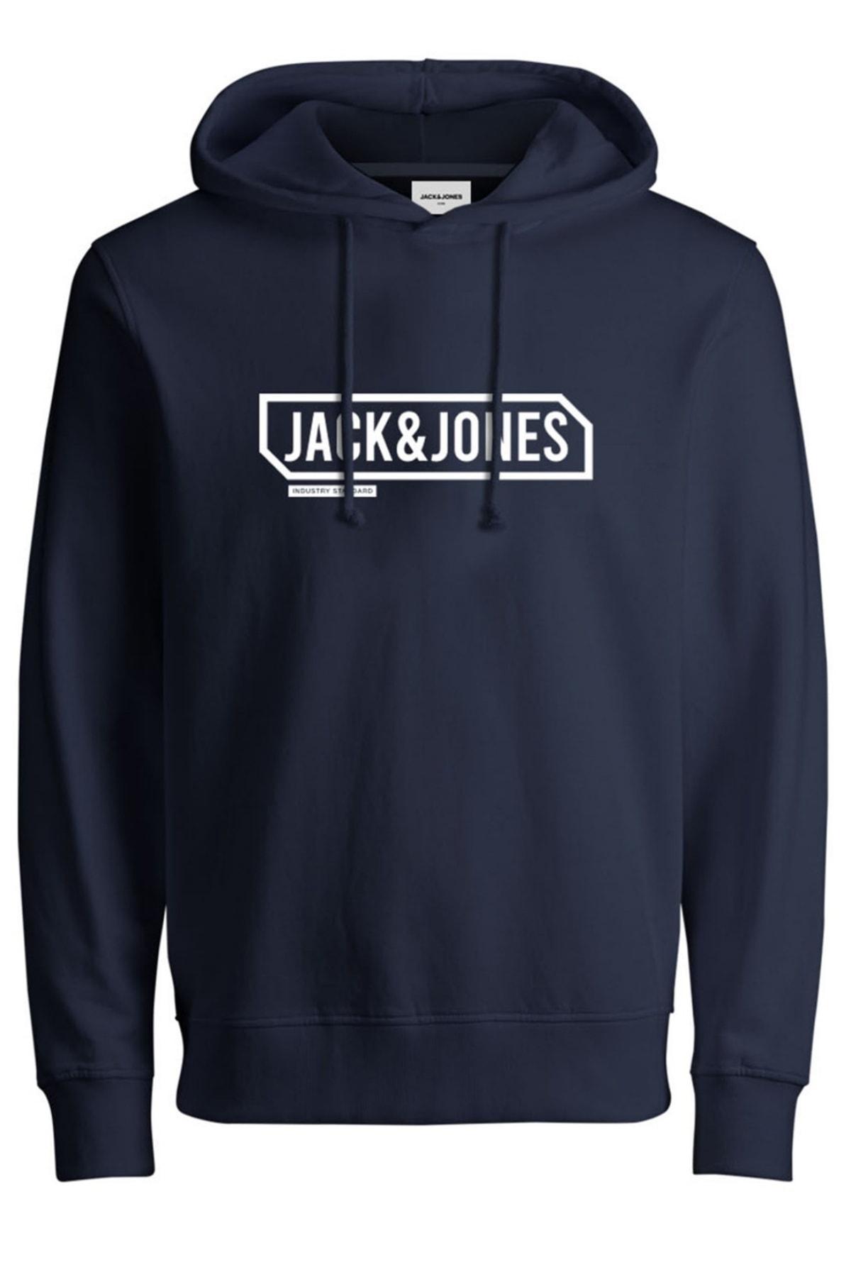 Jack & Jones Jack&jones Jcocanno Hood Erkek Sweat 12191402 1