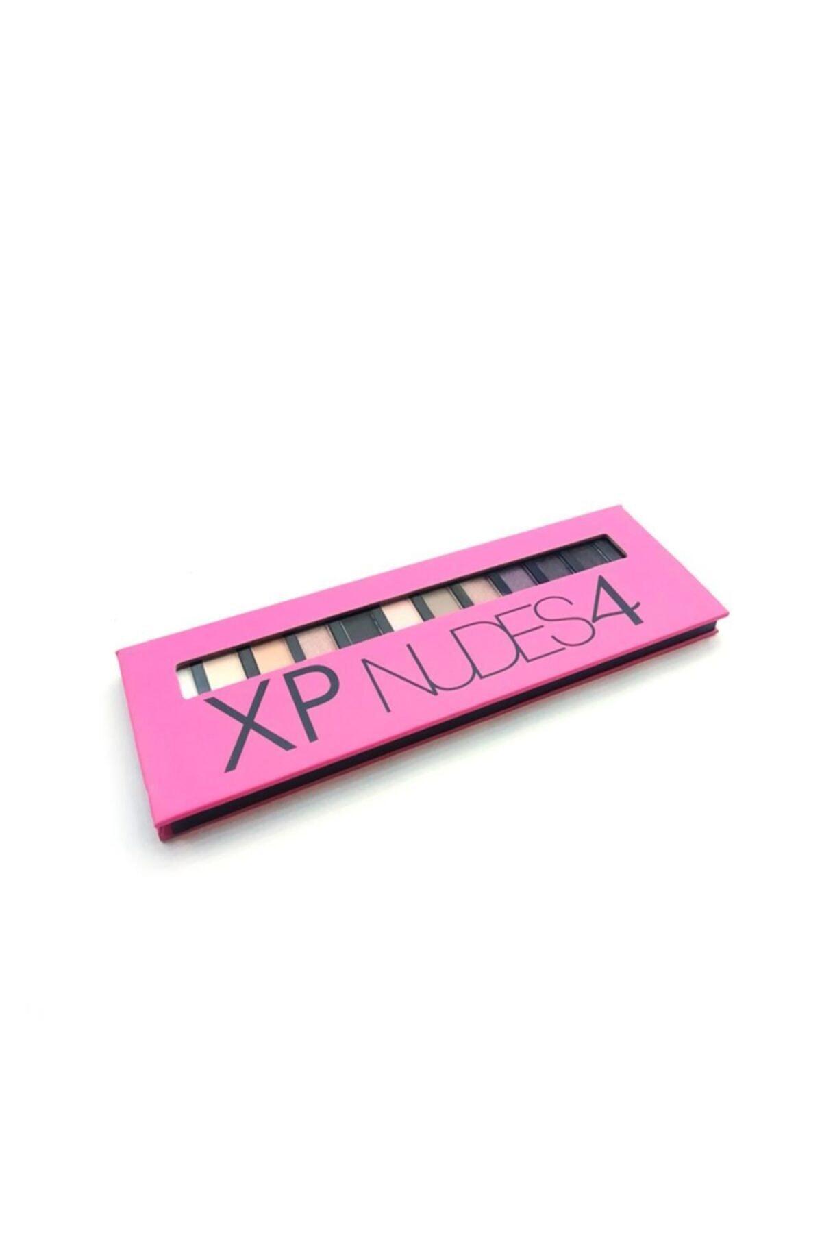 XP Nudes 4-12 Farklı Ton-eyeshadow Collection 2