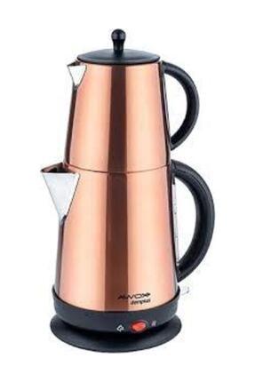 AWOX Demplus Çelik Çaycı Çay Makinesi Gold Çaycı