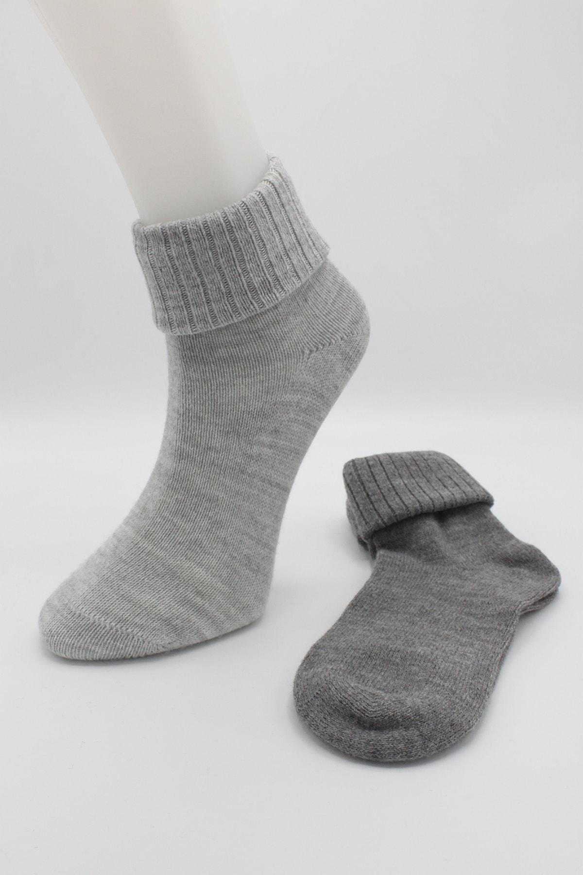 Igloo Socks Igloo 2'li Kıvrık Dikişsiz Yün Çorabı 2