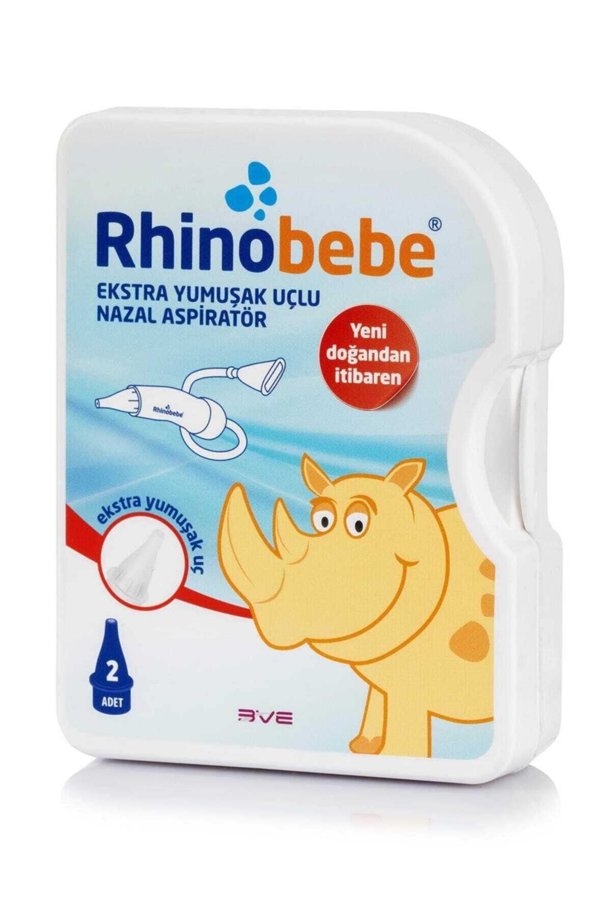 Rhinobebe Bebek Burun Aspiratörü 1 2