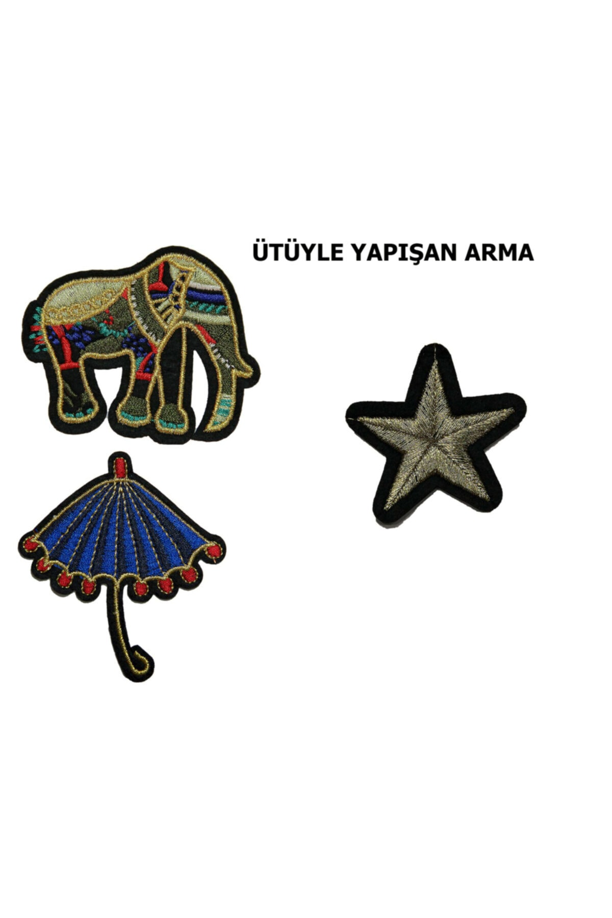 HALFART Kültür Serisi Arma Patch Yama Sticker 1