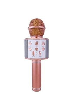 POLYGOLD Karaoke Mikrafonlu Hoparlör Usb Bluetoothlu Hoparlör