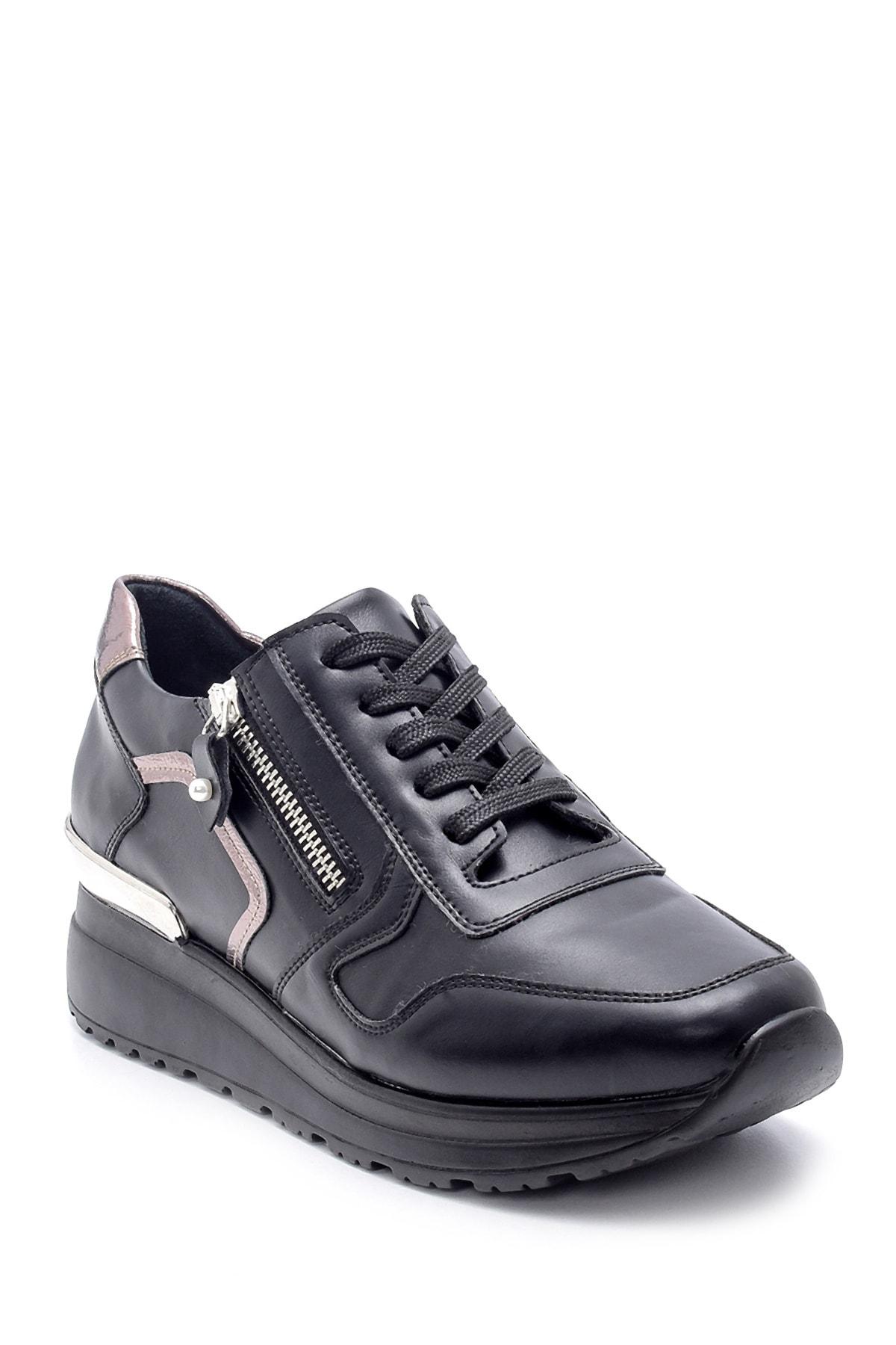 Derimod Kadın Fermuar Detaylı Sneaker 2