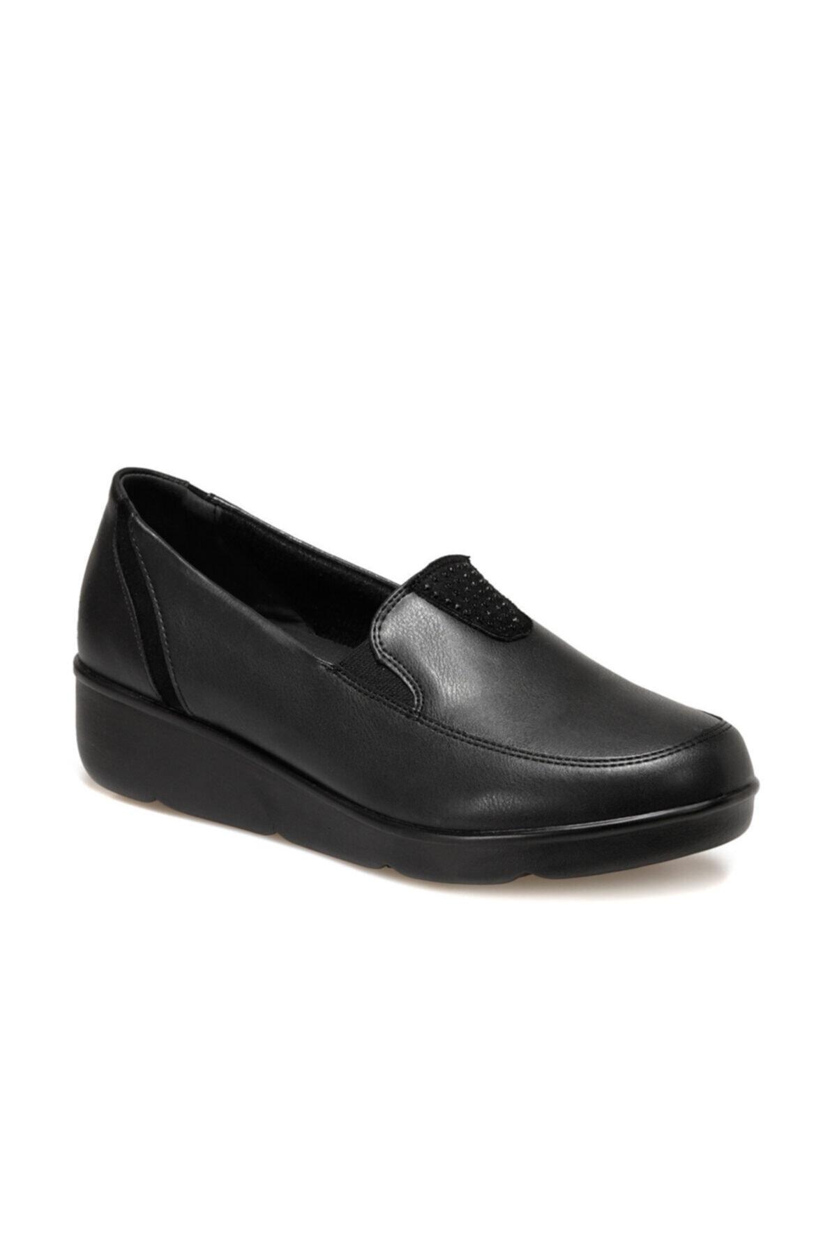 Polaris 5 Nokta 103115.Z Siyah Kadın Comfort Ayakkabı 100555560 1