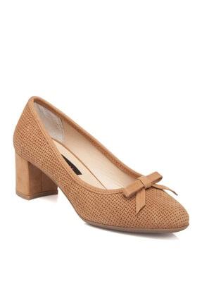 Tergan Taba Deri Kadın Ayakkabı 64366g99
