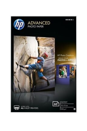 HP Q8008a A6 Parlak Fotoğraf Kağıdı 250 gr 60 Sayfa