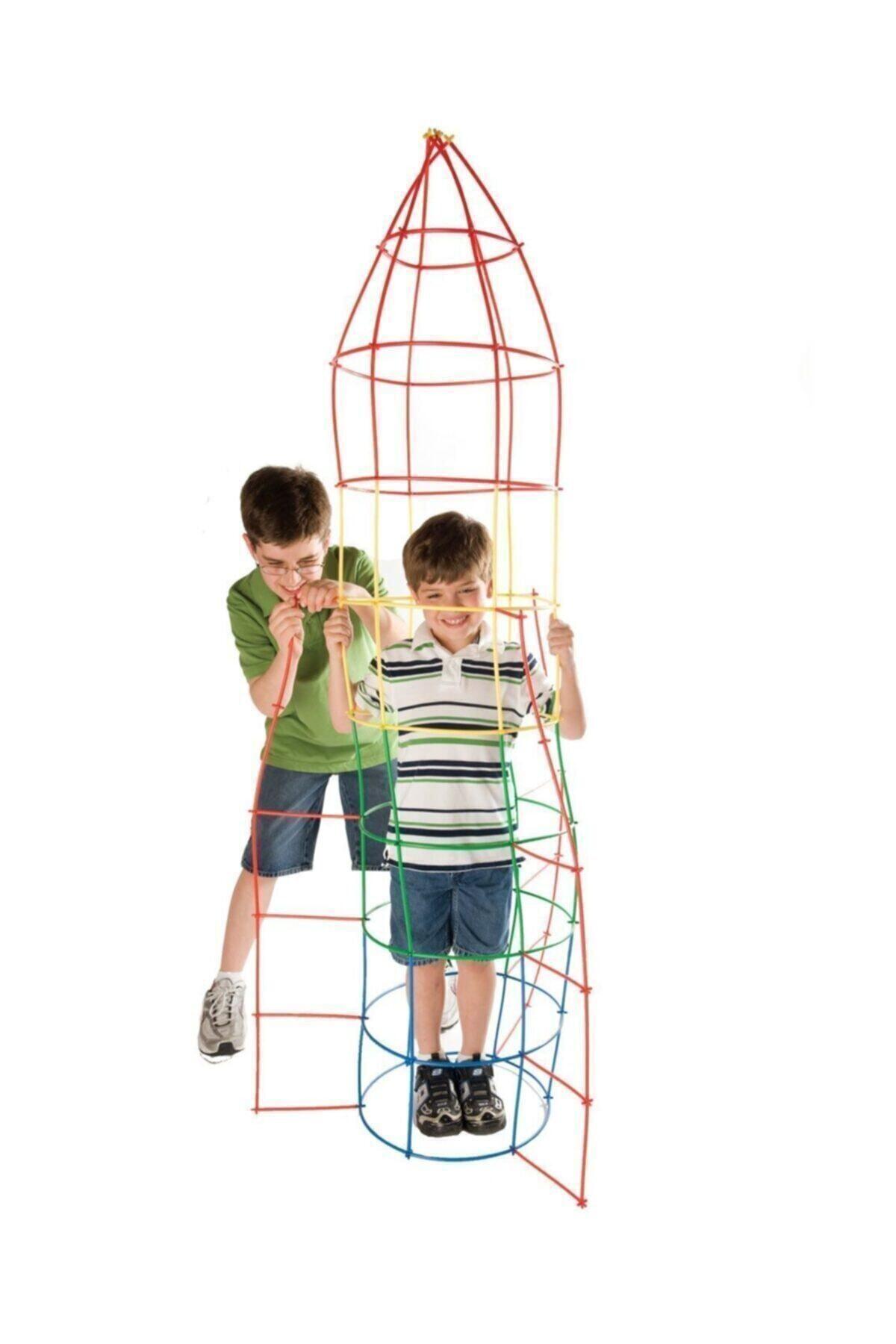 TH GAMES Eğitici Bambu Çubukları Xl 300 Parça 2