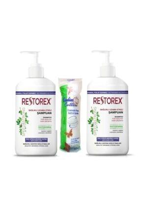 Restorex Şampuan Saç Dökülmesine Karşı Ekstra Direnç 1000 ml 2 X Adet