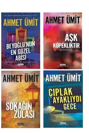 Yapı Kredi Yayınları Beyoğlu'nun En Güzel Abisi & Aşk Köpekliktir & Sokağın Zulası & Çıplak Ayaklıydı Gece - Ahmet Ümit