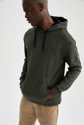 DeFacto Discovery Channel Lisanslı Oversize Fit Kapüşonlu Sweatshirt
