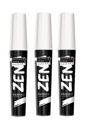Farmasi Zen Maskara 8 ml 3 Adet