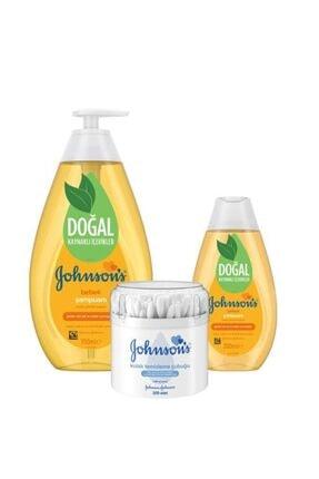 Johnson´s Baby Şampuan 750+200 ml ve Kulak Temizleme Çubuğu 200'lü