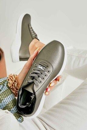 Bambi Kurşun Kadın Sneaker K01543100009