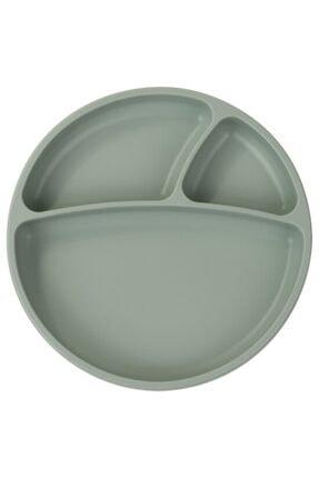 Oioi Silikon Tabak Vakum Tabanlı Porsiyon 6+ Ay River Green