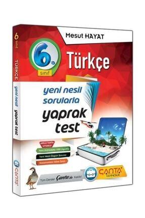 Çanta Yayıncılık Çanta Yayınları 6.sınıf Türkçe Yaprak Test
