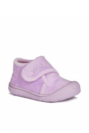 Vicco Color Rahat Kalıp Kız Bebe Lila Panduf