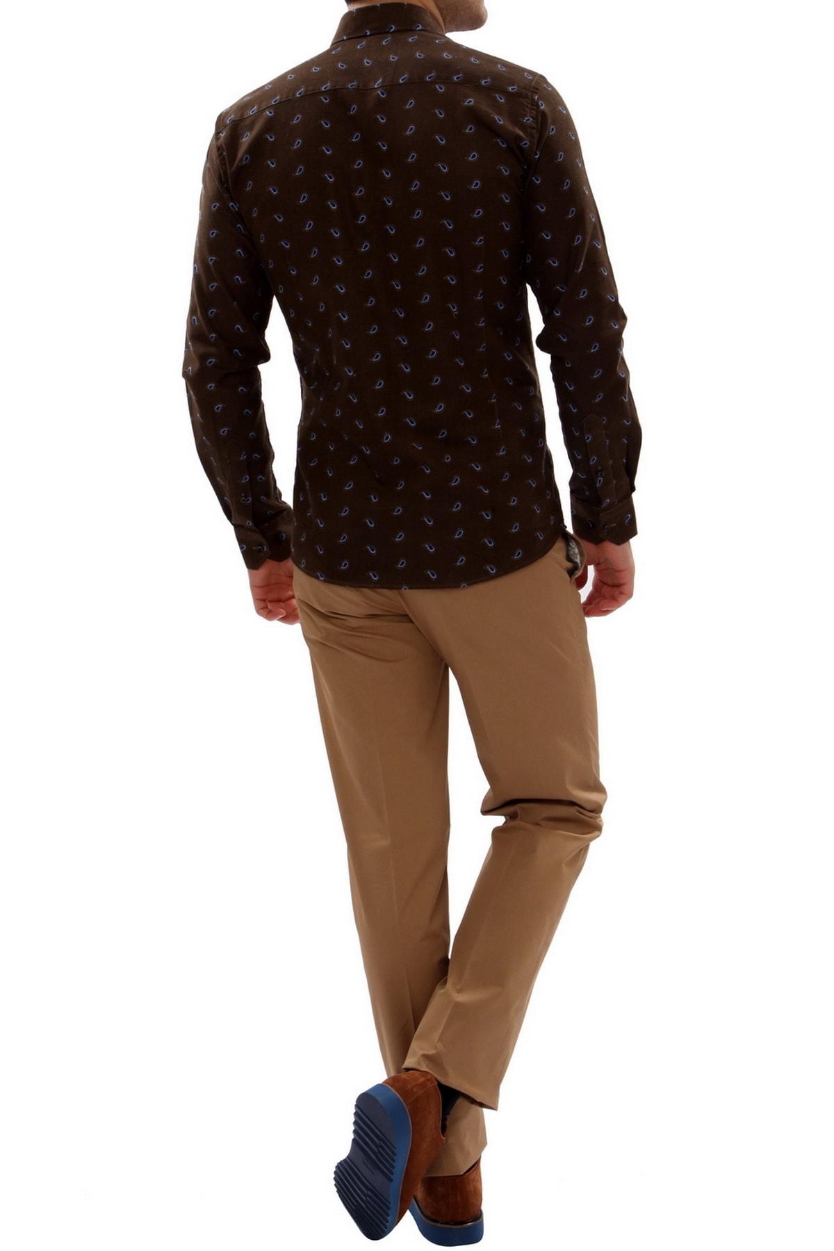 Efor Erkek Kahverengi Slim Fit Spor Pantolon P 905 2