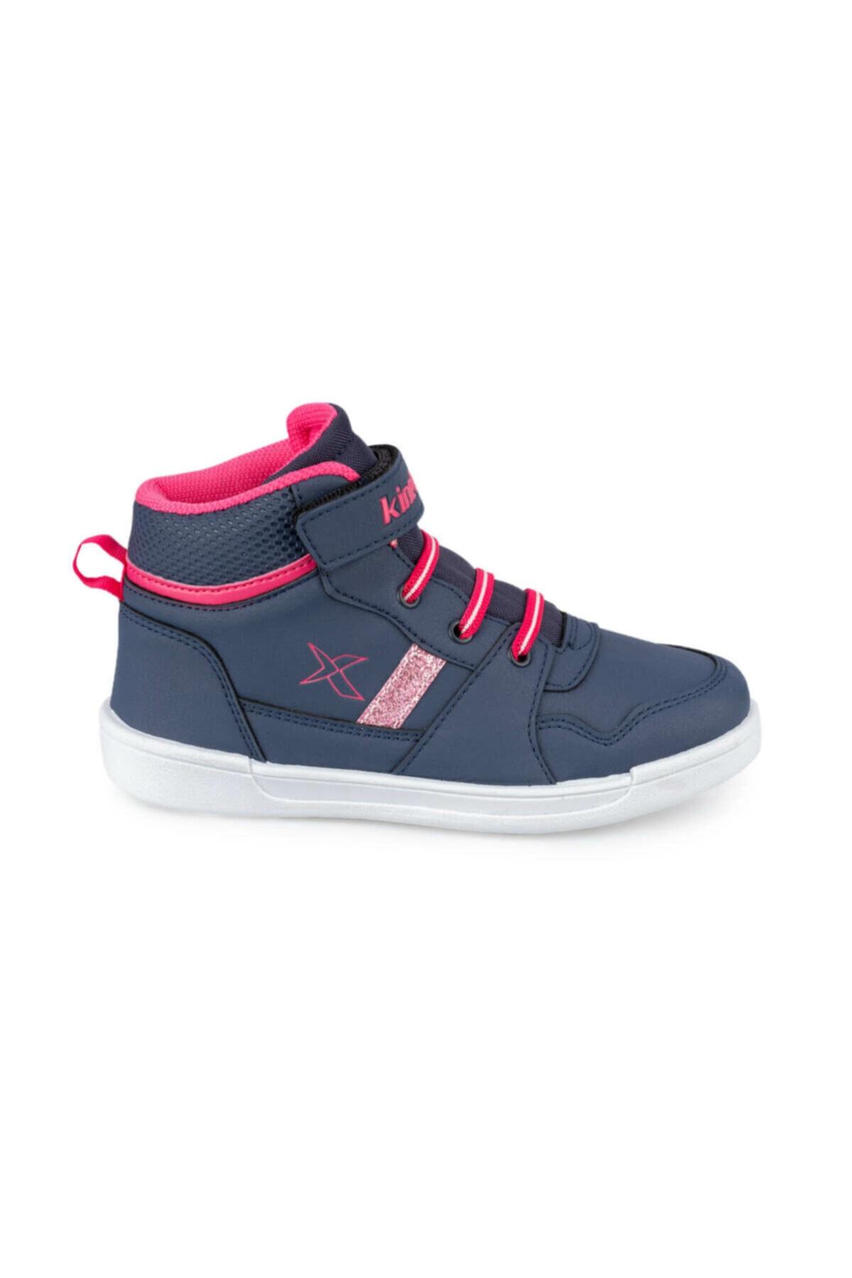 Kinetix ENKOS HI 9PR Lacivert Kız Çocuk Sneaker Ayakkabı 100425523 2