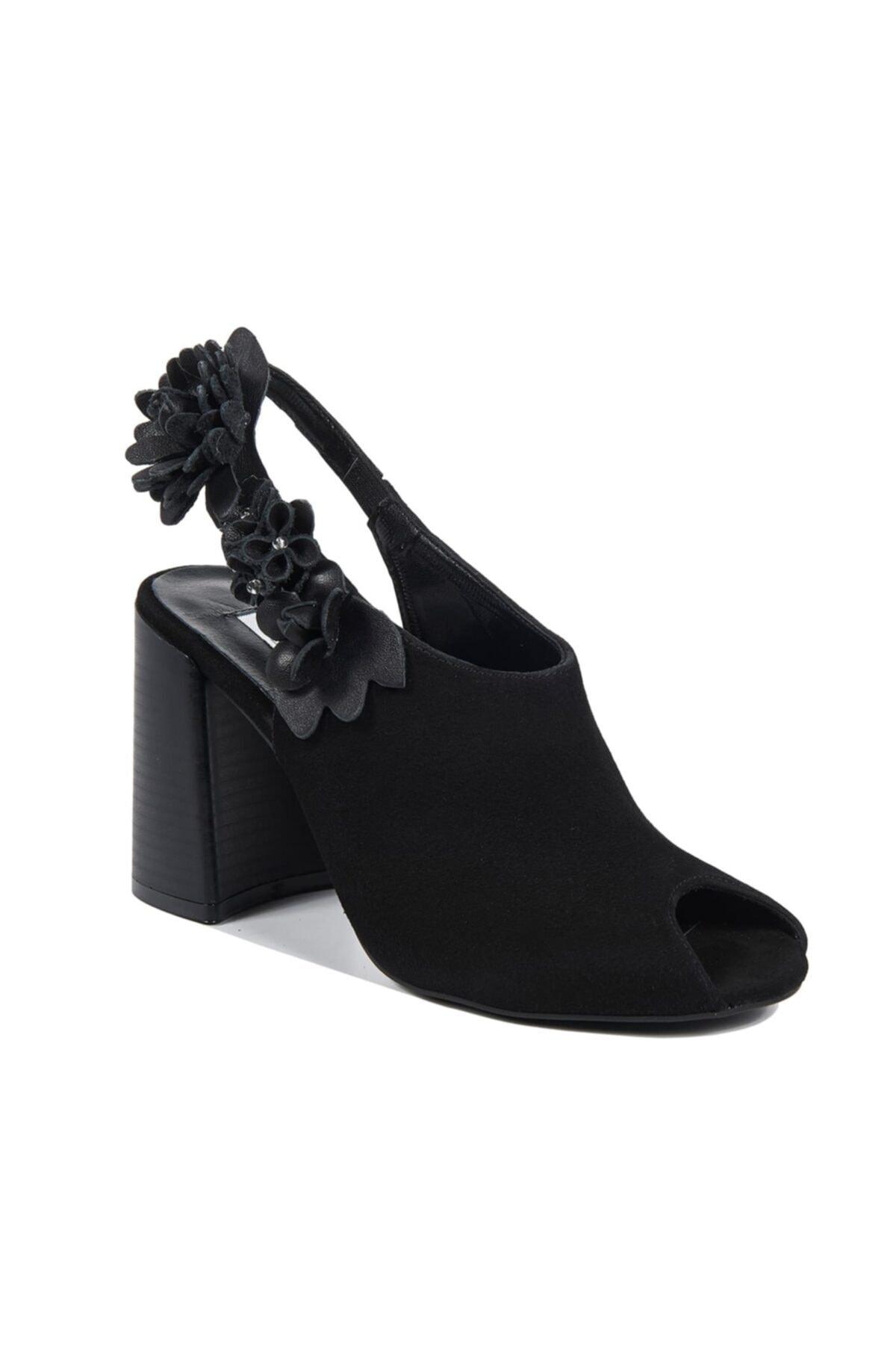 Desa Khloe Kadın Deri Bootie Sandalet 1