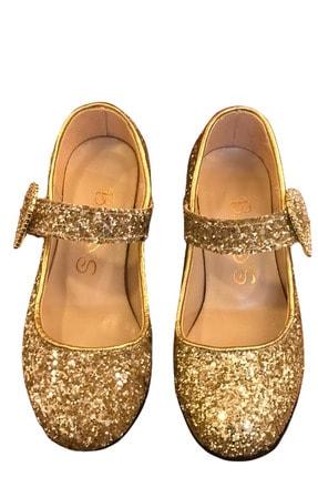 Baby DS Angels Prıncess Topuklu Ayakkabı Altın 26